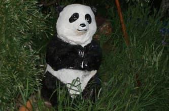 панда из монтажной пены