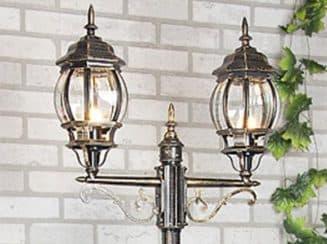 светильник для столба