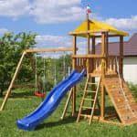 уличные игровые комплексы для детей на дачу