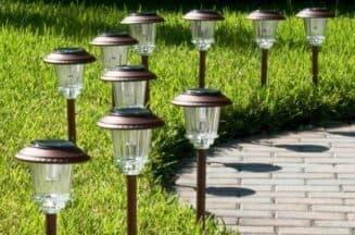 светильники от солнечных батарей
