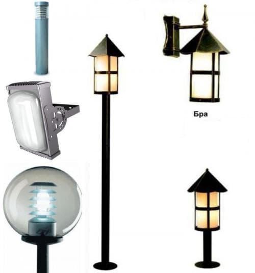 виды светодиодных фонарей