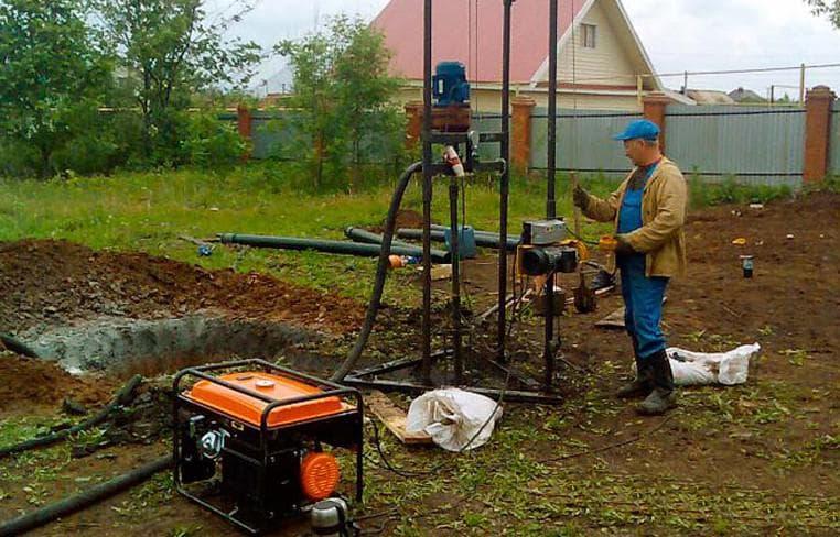 Технологии и способы бурения водяных скважин