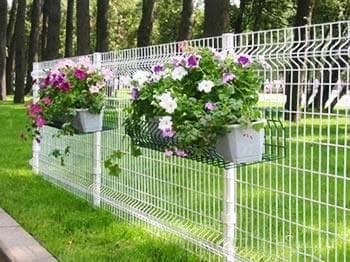 Опора для цветов из стеки Gitter