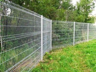 забор ограждение металлическое