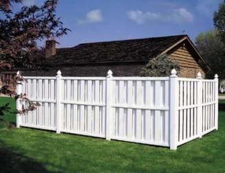забор пластиковый, пвх забор