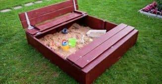 Самодельная песочница