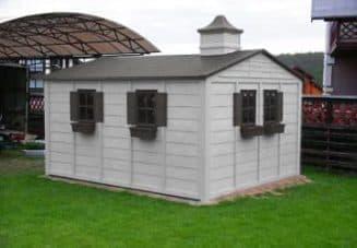 бытовка, сарай и хозблок под одной крышей