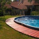 как нагреть воду в бассейне без электричества