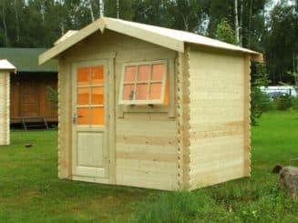 деревянный дачный душ