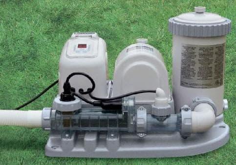 На сегодняшний день предлагают модели фильтровальных систем BestWay с хлорогенераторами