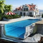 надувной бассейн для дачи в леруа мерлен