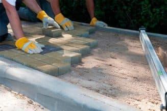 тротуарная плитка своими руками на бетон