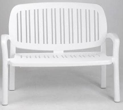 пластиковые скамейки для дачи в леруа мерлен
