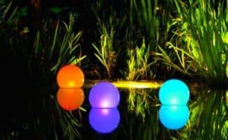 светильники для бассейна плавающие