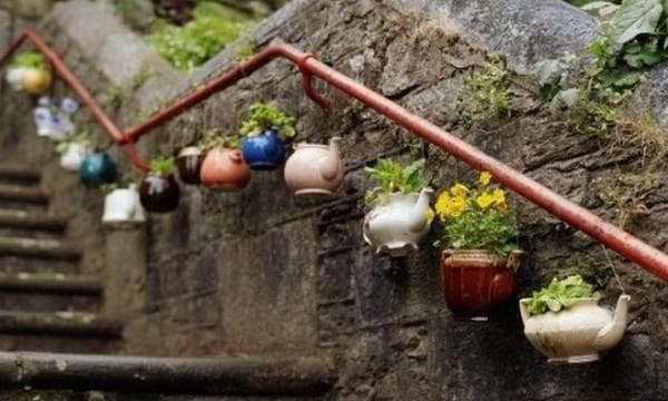кашпо для уличных цветов своими руками