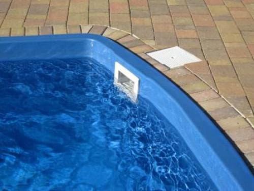встроенный скиммер для бассейна intex