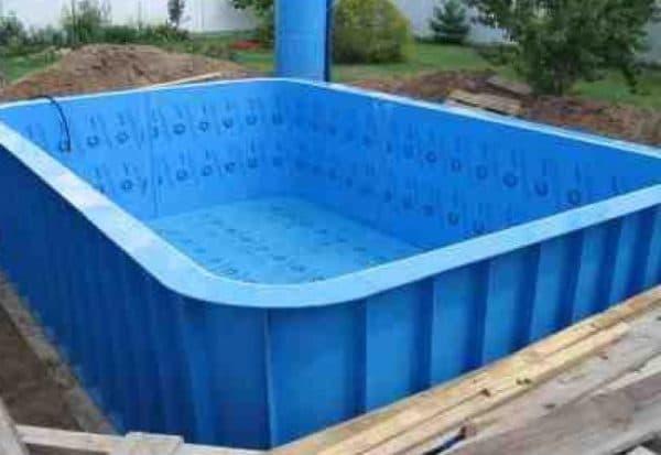 самонесущий бассейн из полипропилена