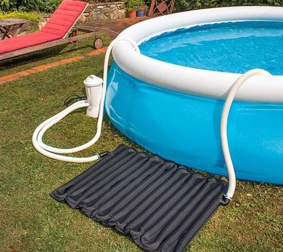 солнечный нагреватель воды для бассейна intex