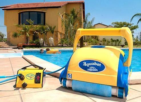 донный пылесос для бассейна Aquabot