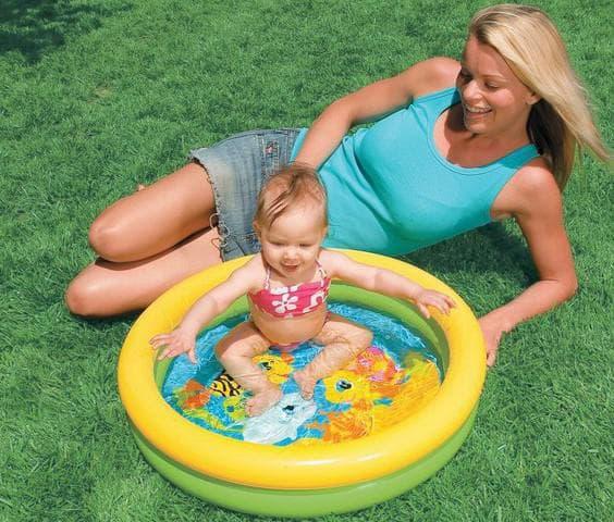 детские надувные бассейны для малышей