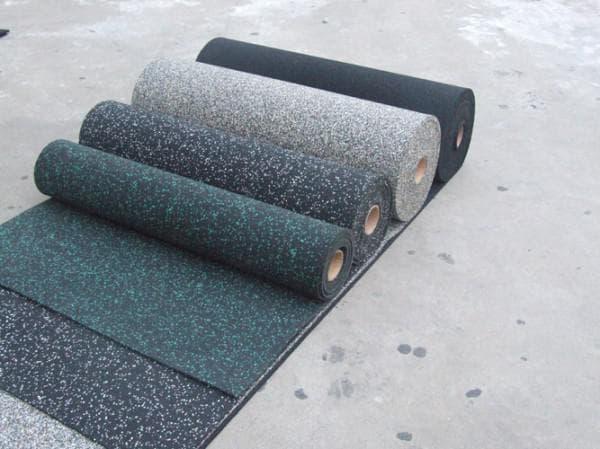 резиновое покрытие для детских площадок Рулонные поверхности