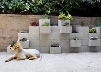 уличные бетонные цветочницы своими руками из кирпичей