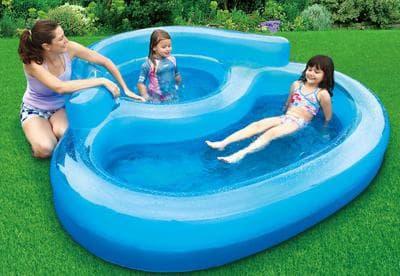 надувной бассейн Polypool Deluxe Spa АМ-Р17-0113