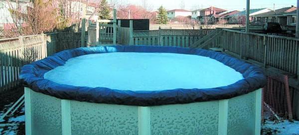 круглое покрывало для бассейна