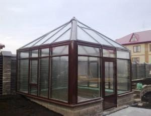 Алюминиевые теплицы из стекла