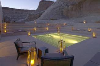 светильники вокруг бассейна для общей зоны