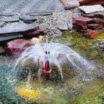 насос для дачного фонтана