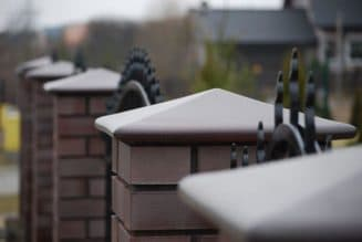 описание бетонных колпаков для забора