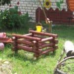 поделки из досок для детской площадки