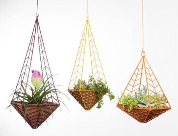 подвесные кашпо для сада
