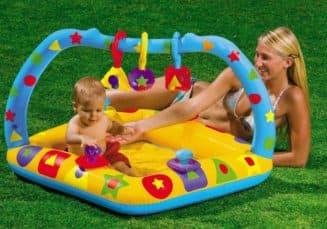 описание надувных бассейнов для малышей
