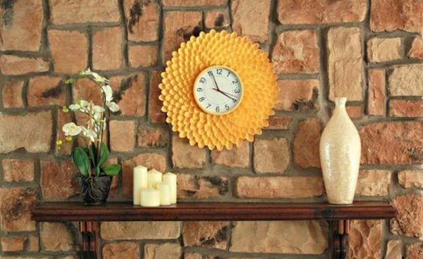 фасадные часы для дачи