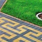 технология укладки тротуарной плитки на даче