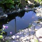 как установить пластиковый пруд