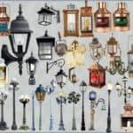 уличные подвесные фонари для дачи