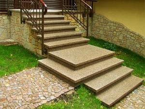 Ступени для наружних лестниц