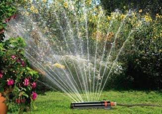 дождеватели для полива огорода
