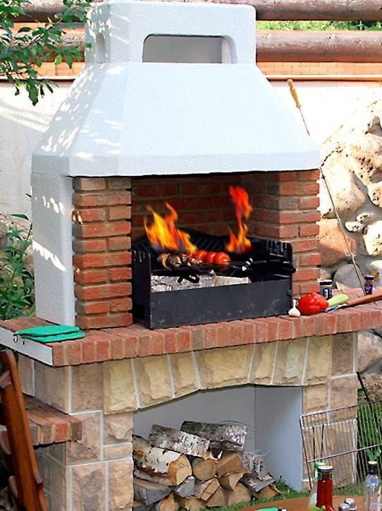 барбекю печь уличная для дачи