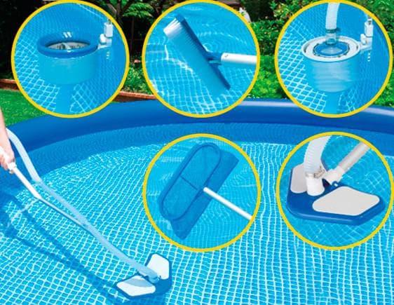 ручной усложнённый водный пылесос для бассейна