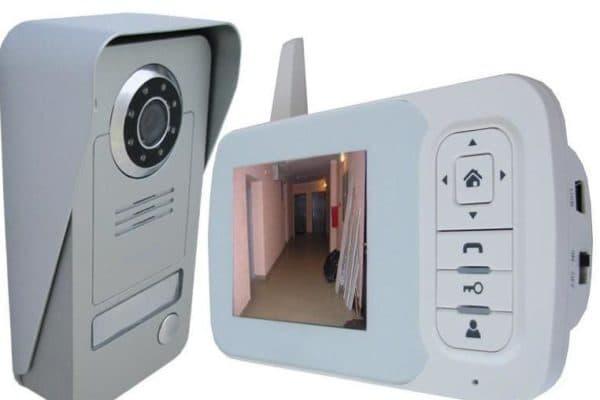 мобильный видеодомофон беспроводной для частного дома