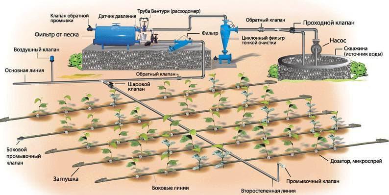 насос для автоматической системы полива