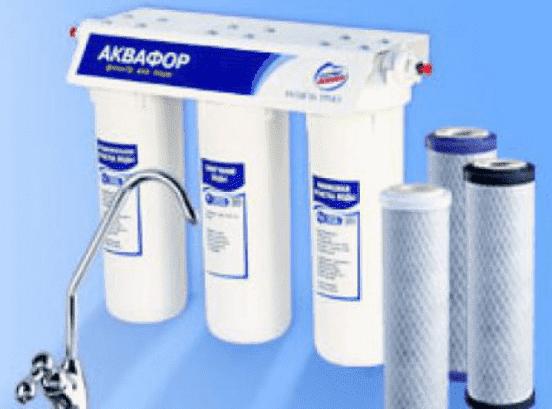 фильтр для воды от устранения трехвалентного железа
