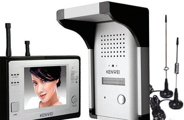 накладной видеодомофон беспроводной для частного дома