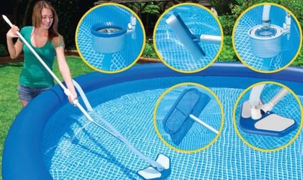 ручной пылесос для бассейнов интекс
