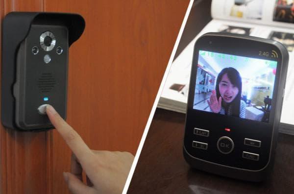 видеодомофон датчик движения