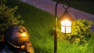 уличные фонари для дачи